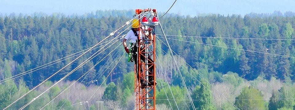 klatring i stolpe